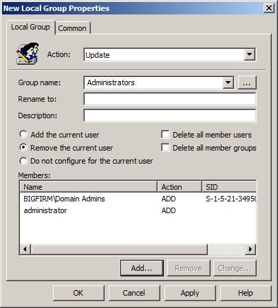 Windows Administrators Group 75