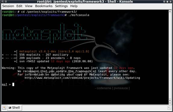 Programmi Hacker ( Hacker Toolkit ) : Metasploit Penetration Tester